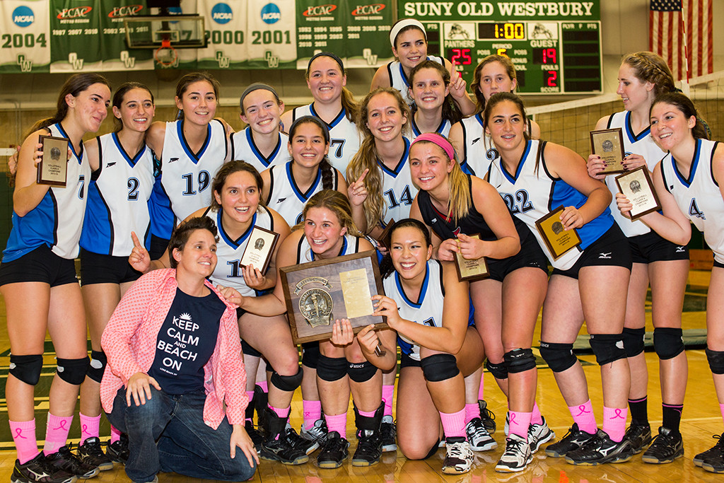 Long Beach knocked off South Side in five sets to win the Nassau Class A volleyball championship.