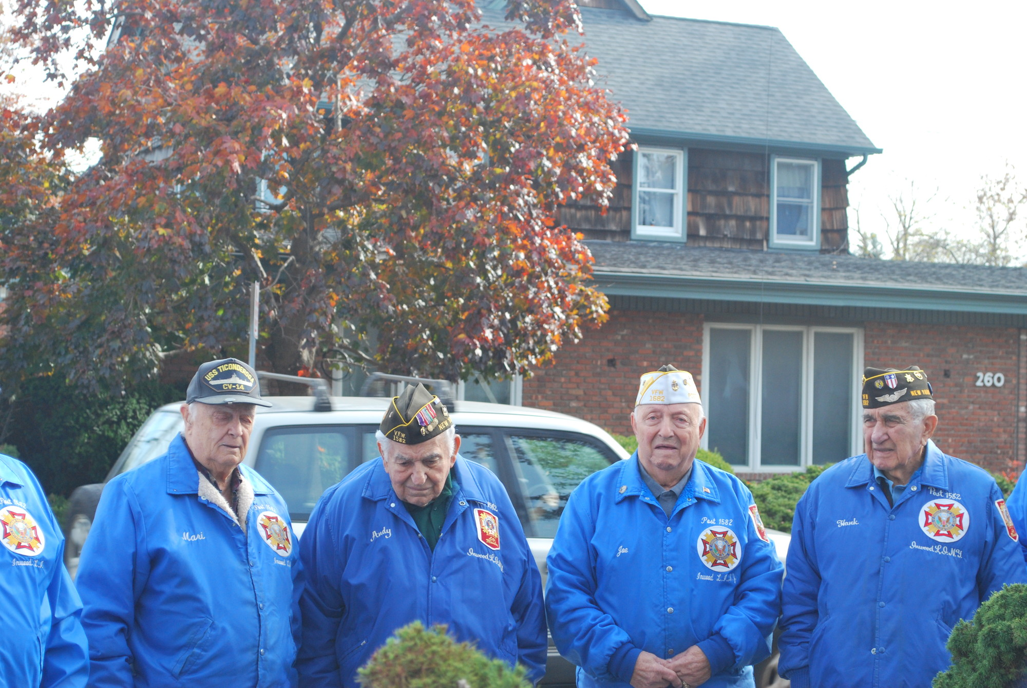 Inwood post members, including Village of Cedarhurst Mayor Andrew Parise, paid tribute to fellow soldiers at the Veterans Day ceremony.