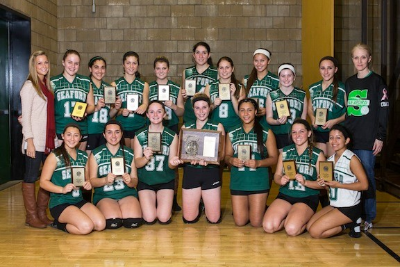Seaford won its third straight Nassau Class B crown.