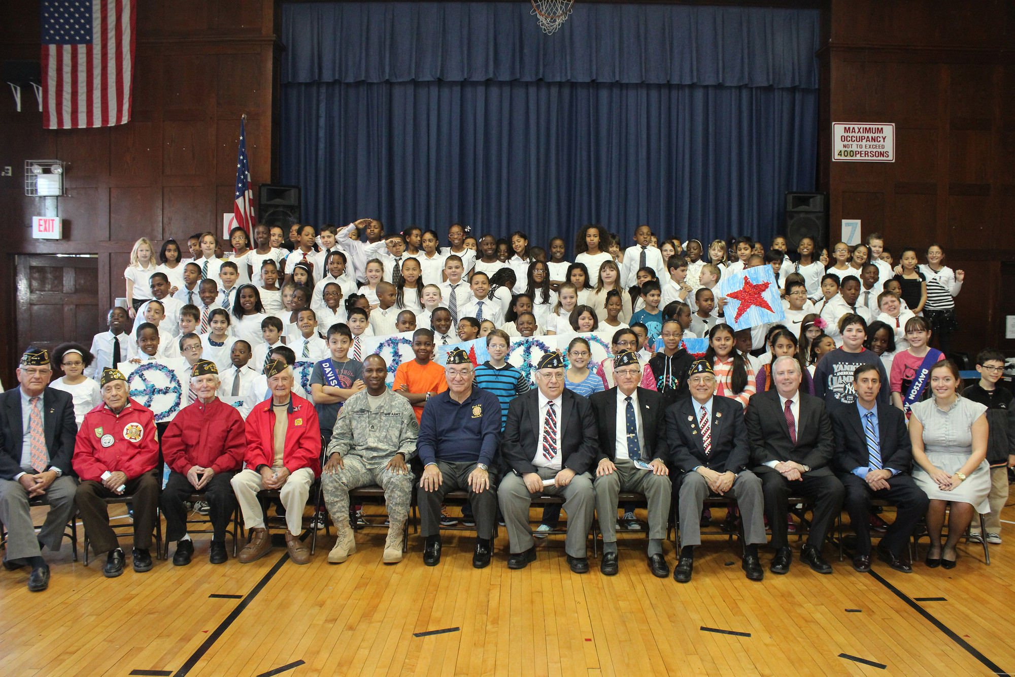 Davison Avenue Intermediate School hosted local veterans at its 19th annual Veterans Day Assembly on Nov. 8.