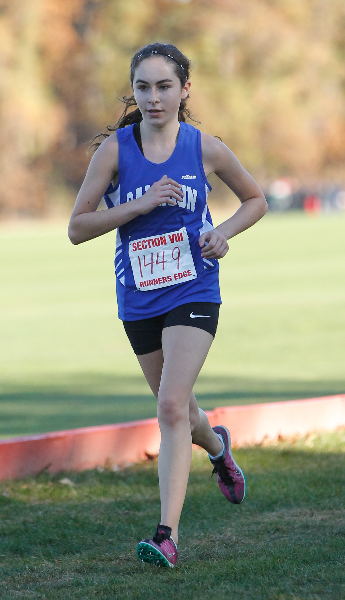 Emma Joseph finished ninth in the Class I county cross-country championship with a time of 20:33. She also came in eighth in Class A and 23rd overall in the state qualifying race with a 20:27.2 5K.
