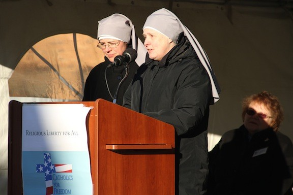 Little Sisters of the Poor spoke of understanding for all creeds and beliefs.