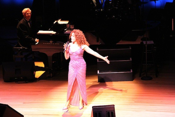 Famed vocalist Bernadette Peters entertained guests at the gala event.