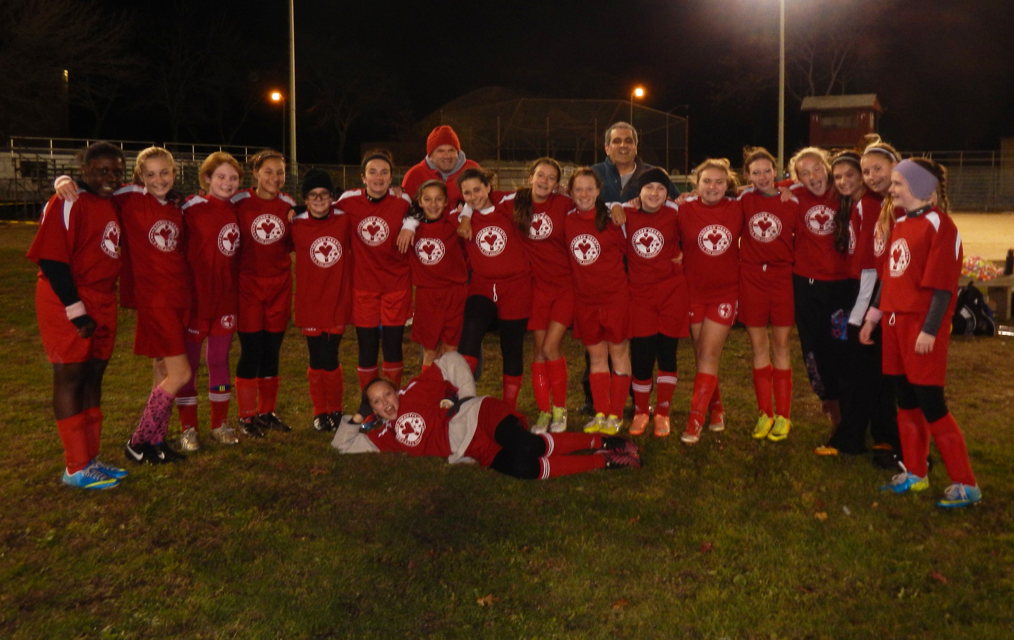 The Sacred Heart seventh- and eighth-grade girls' soccer team was the runner-up for the 2013 Nassau County Championship title. The squad ended the regular season undefeated and in first place before falling to St. Dominic's of Oyster Bay in the championship game 2-1 on Sunday.