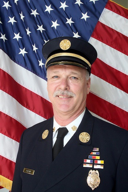 Charlie Fortin is the incumbent candidate for Oceanside fire district commissioner.