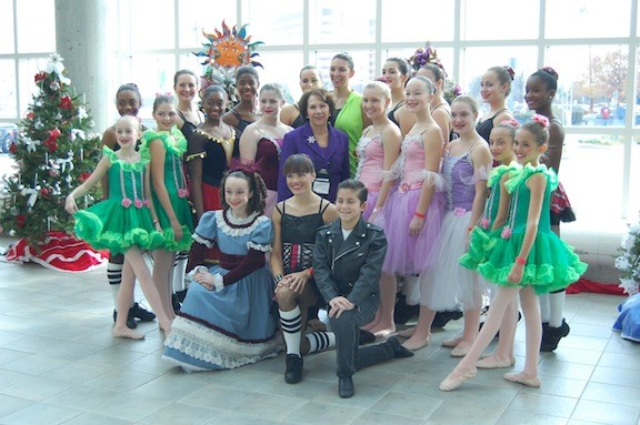 Rockville Centre's Leggz Ltd. Dance, under direction of Joan MacNaughton, always enthralls audiences with their excerpts from The Nutcracker at the Festival of Trees.