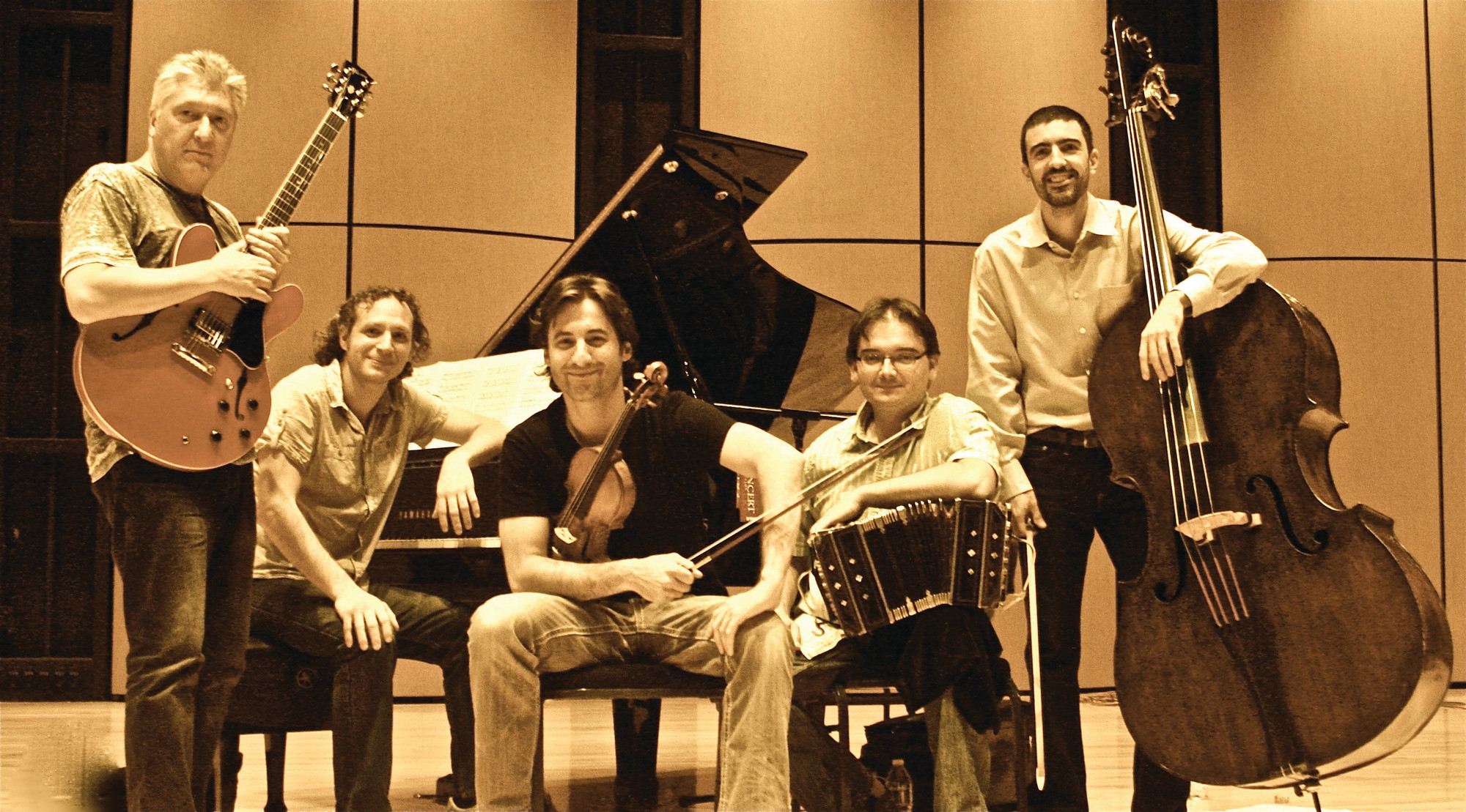 The Quint Quint performs Astor Piazzolla's celebrated music this weekend.