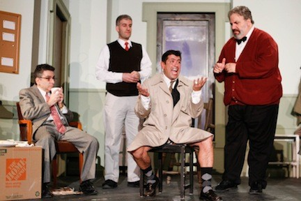 "BroadHollow Theatre's staging of Neil Simon's ""Laughter on the 23rd Floor"" ends its run in Elmont on Sunday."