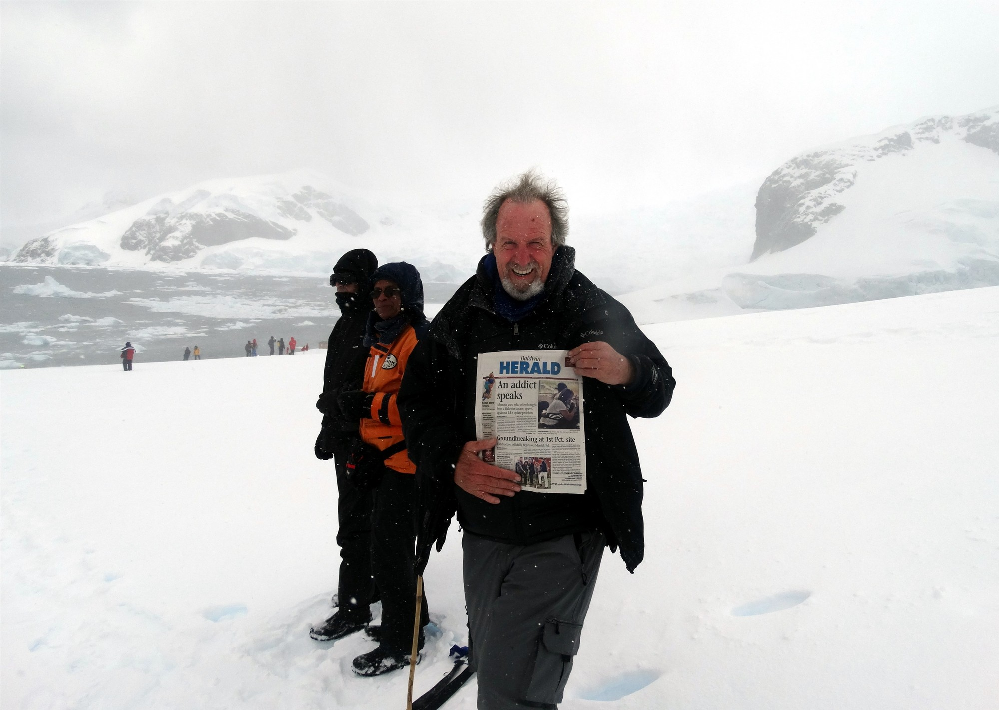 On the Antarctic Continent