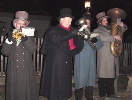 "Holiday fun 19th century-style: Old Bethpage Village gives visitors a taste of holiday merriment from days gone by when the restored village welcomes visitors to its ""Candlelight Evenings"" celebration, beginning Friday."