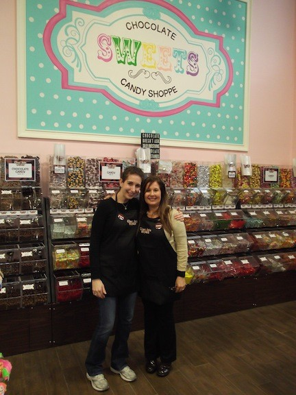 Rachel Levenberg, left, and Donna Stein will celebrate the grand opening of Chocolate Works of Bellmore-Merrick on Sunday, Dec. 15