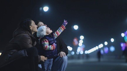The city is extending its post-Hurricane Sandy marketing campaign into the winter months in an attempt to help businesses during the holidays, an initiative that includes another TV commercial featuring the new boardwalk lights, pictured.