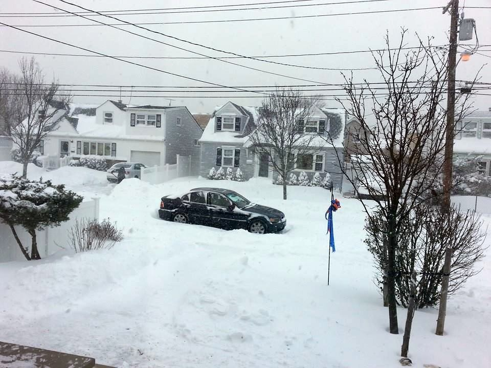 The scene from an Island Park home on Waterford Road by reader Barbra Rubin-Perry