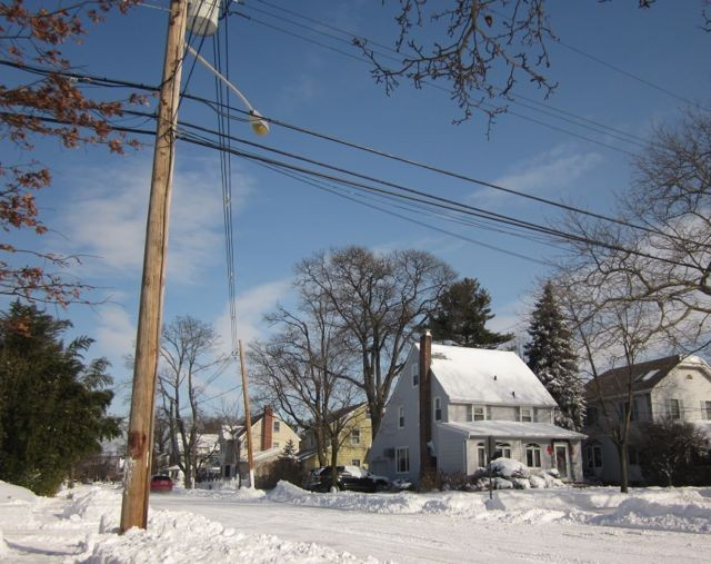 Snow affected power for 822 residents Thursday night. That number had dropped to 24 by mid-Friday morning.