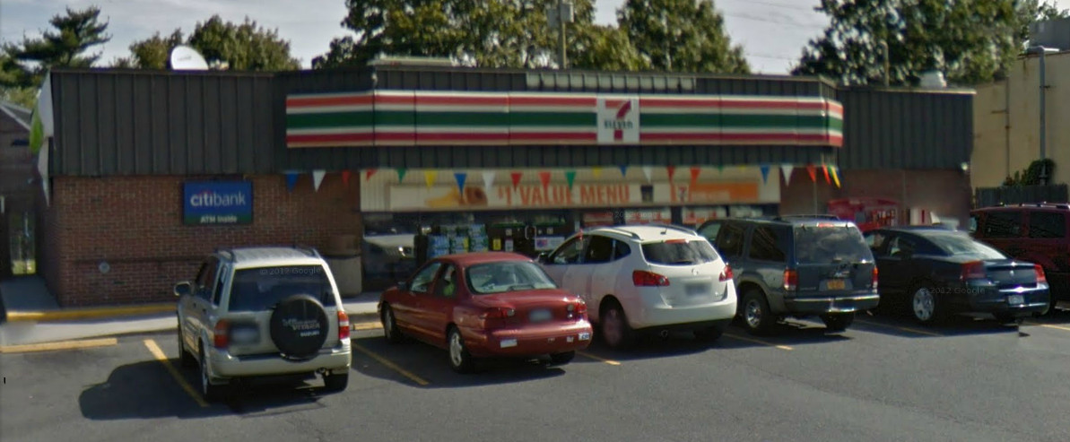Nassau County police allege two men robbed the store in the early morning of Jan. 7, one of which carried a handgun.