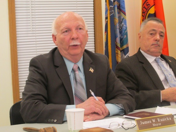 Mayor James Ruzicka and Deputy Mayor Stephen D'Esposito explained the actions of the village over the life of the two-decade-old lawsuit.