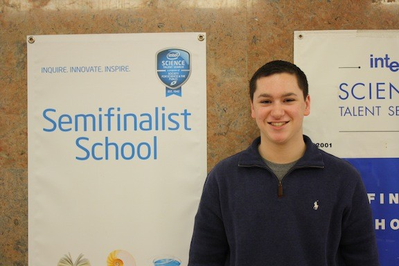Matthew Giovanniello was recognized for his work on a computer program for identifying and treating brain injuries.