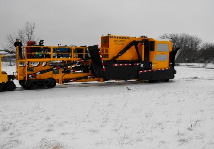 "The MTA recently acquired a new piece of equipment this season, known as a ""ditcher spreader,"" MTA spokesman Sal Arena said, which will be used to clear large snow drifts on tracks, specifically the eastbound Ronkonkoma line."