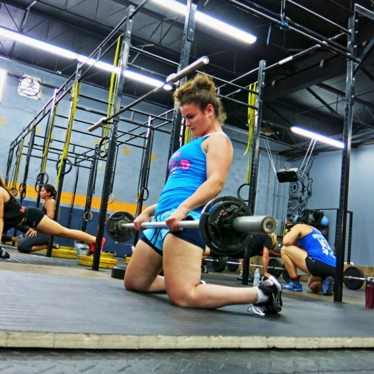Adaptive athlete Steph Hammerman stepped into her first CrossFit box, or gym, on May 3, 2012.