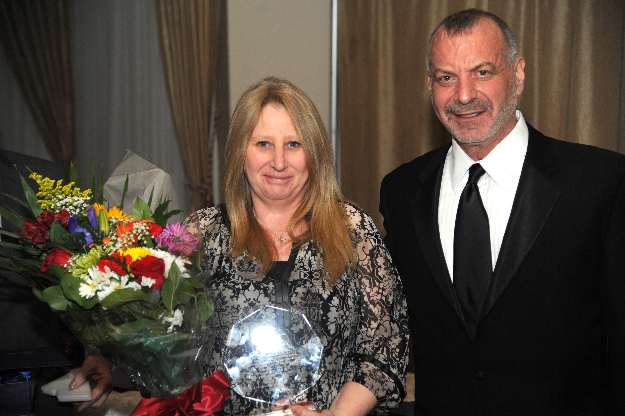 Jackie Fithian, of Vital Signs Plus, Inc., received the Chamber Member of the Year award.