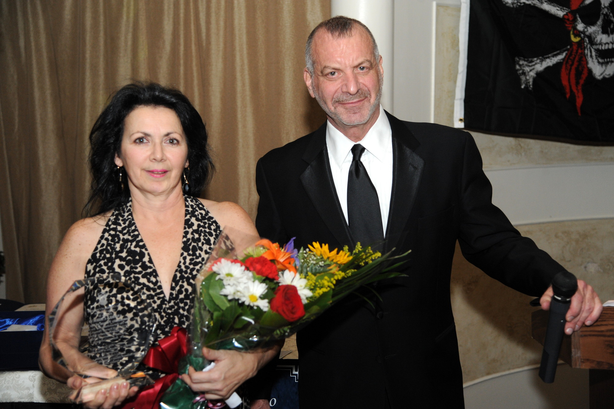 Richner congratulated Andrea Chirico on being named the Community Person of the Year.
