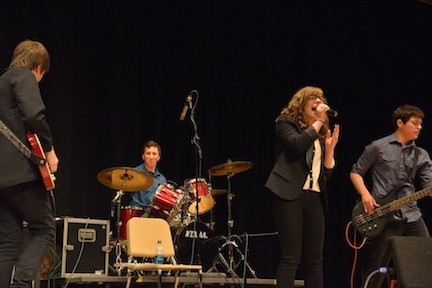 The group nabbed first place at Oceanside High School's 2013 Battle of the Bands, which prompted its members to start recording a studio album, and expects to perform again at this year's competition.