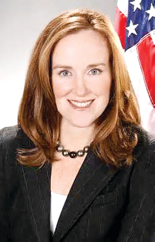 KATHLEEN RICE announced on Wednesday that she will seek the 4th Congressional District seat now held by U.S. Rep. Carolyn McCarthy, who said recently that she would not run again in November because of health concerns.