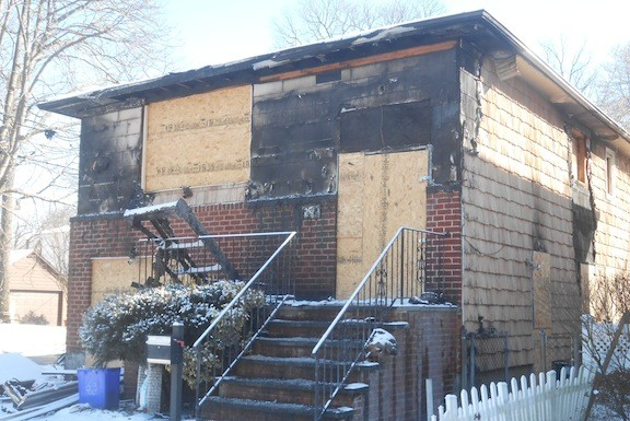 The blaze left the home uninhabitable until extensive repairs can be made.