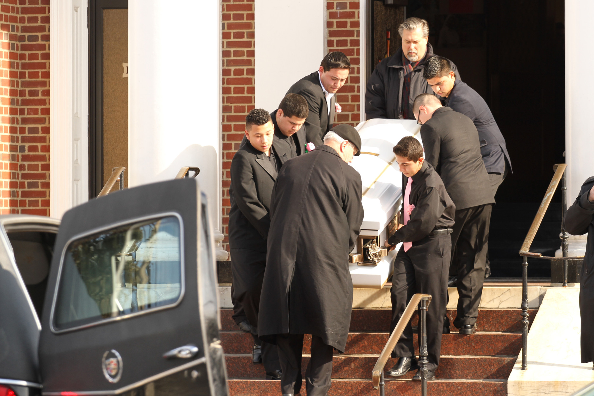 A funeral Mass was held for Cindy Garcia on Feb. 6 at Our Lady of Loretto Church in Hempstead, with a burial at Greenfield Cemetery in Uniondale.