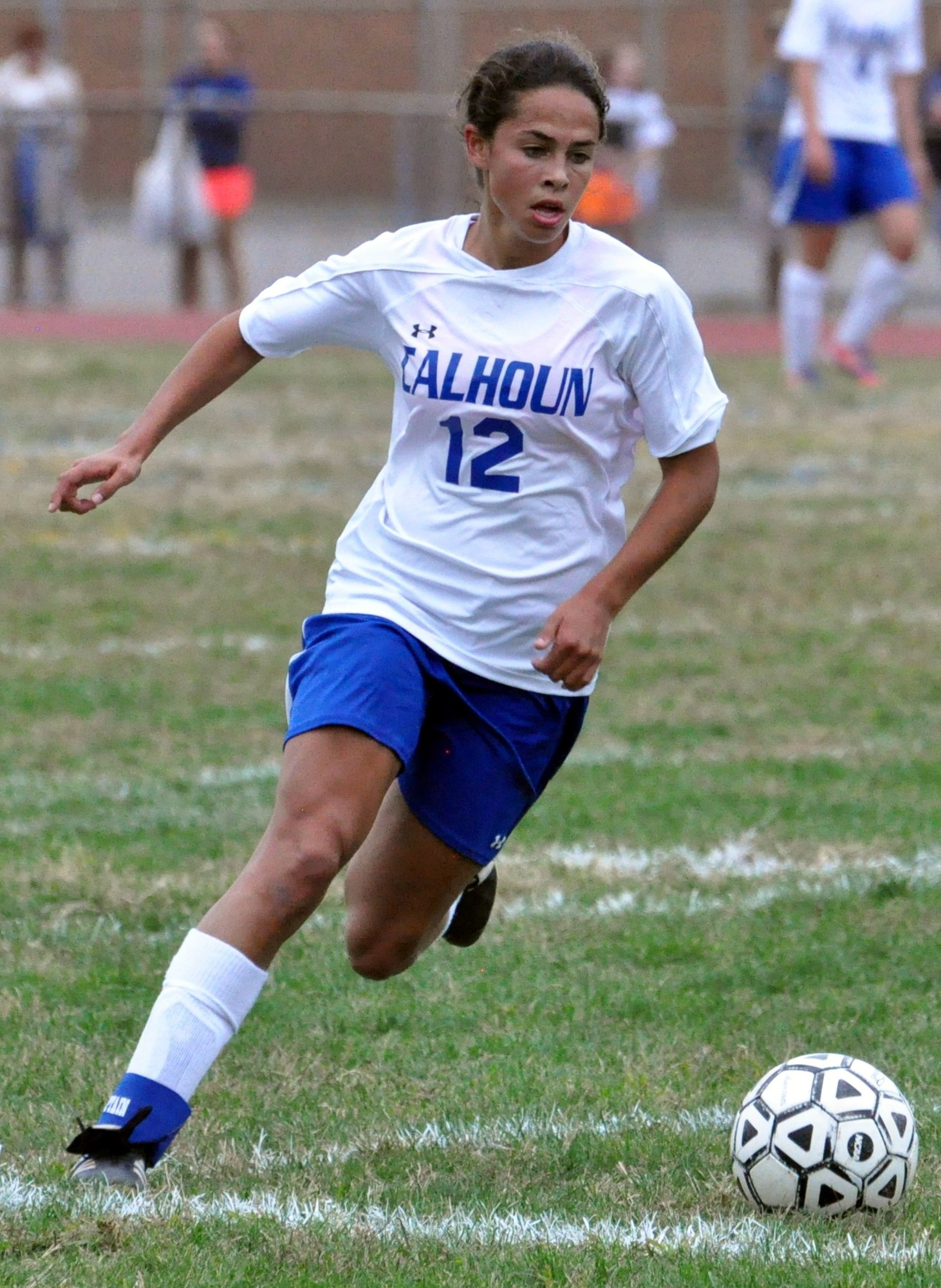 Calhoun High School senior Kayla Cappuzzo was recently named the New York State Gatorade High School Soccer Player of the Year.
