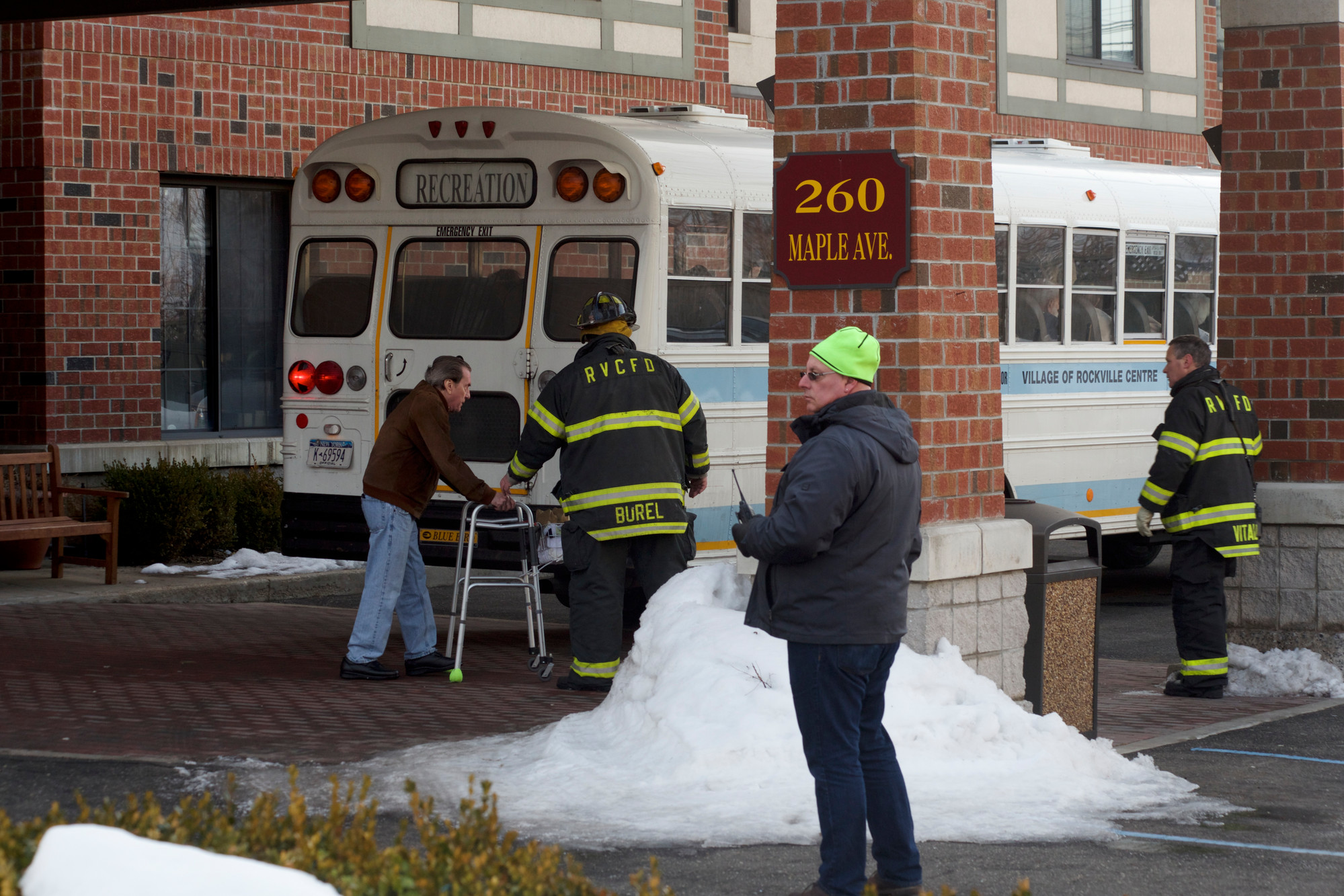 Residents of Maple Point Assisted Living were evacuated from their homes early Wednesday morning. Chelsea Senior Living, the company that runs Maple Pointe, hopes to have residents back in on Thursday.