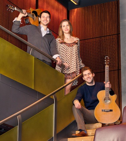 The folk trio performs in Rockville Centre on Sunday.