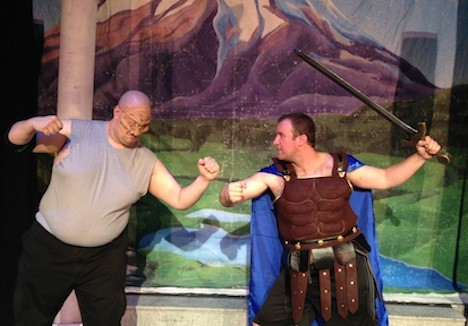 "The adventures of the mythological Greek hero come to life in the BroadHollow Theatre's staging of 'Hercules"" in Elmont."