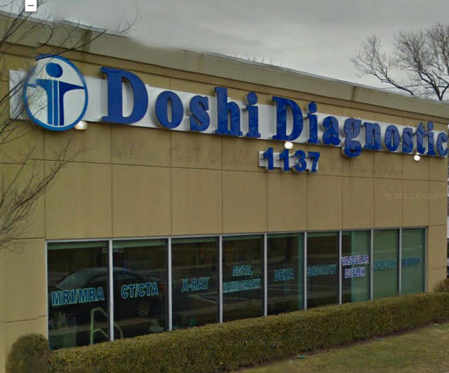 Doshi Diagnostic Imaging Services, P.C. and Diagnostic Imaging Group, LLC will repay more than $2.9 million to the state Medicaid program for false billings. One of  Doshi's  21 locations is 1137 Broadway in Hewlett.