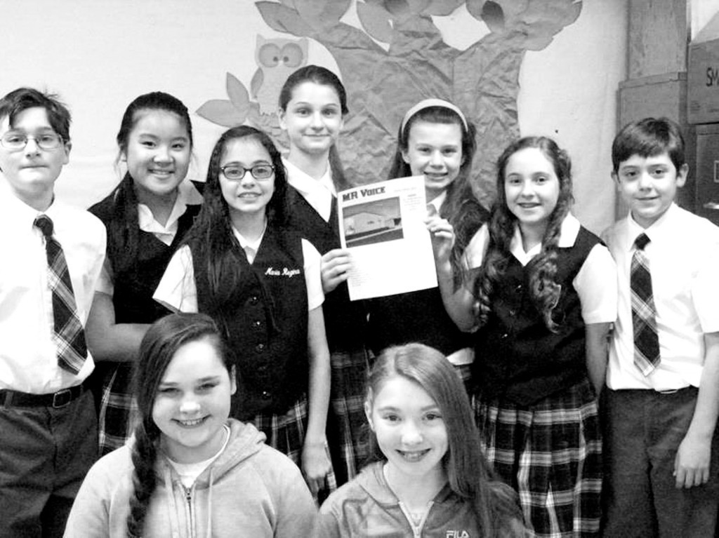 Maria Regina Students proud of their inaugural edition.