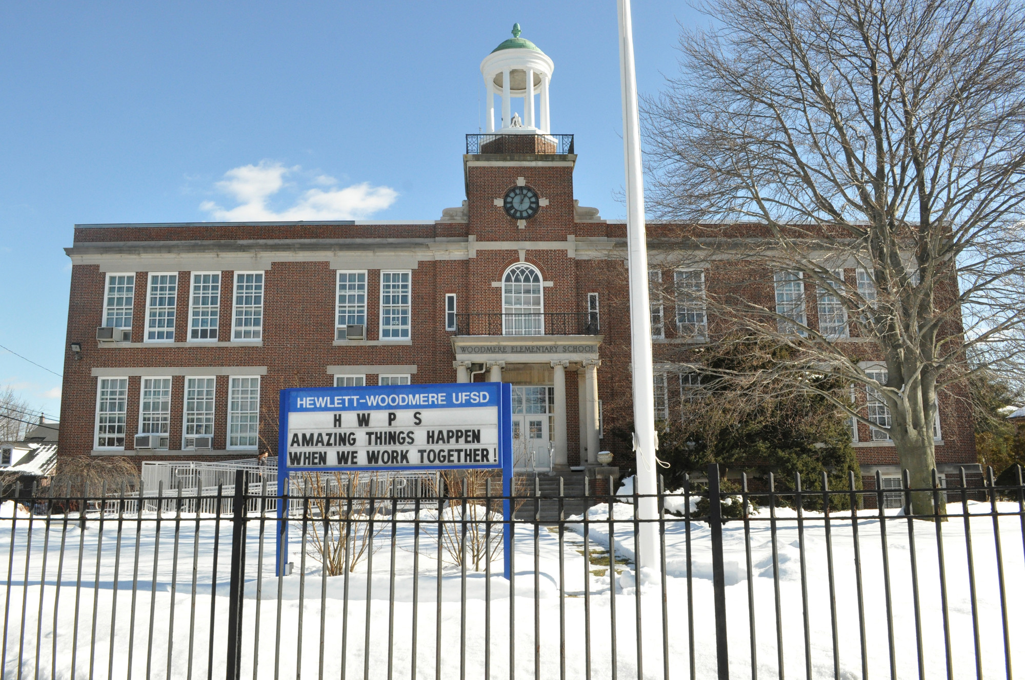 Residents can ask questions and present concerns at the budget forum being held at the Woodmere Education Center on March 9.