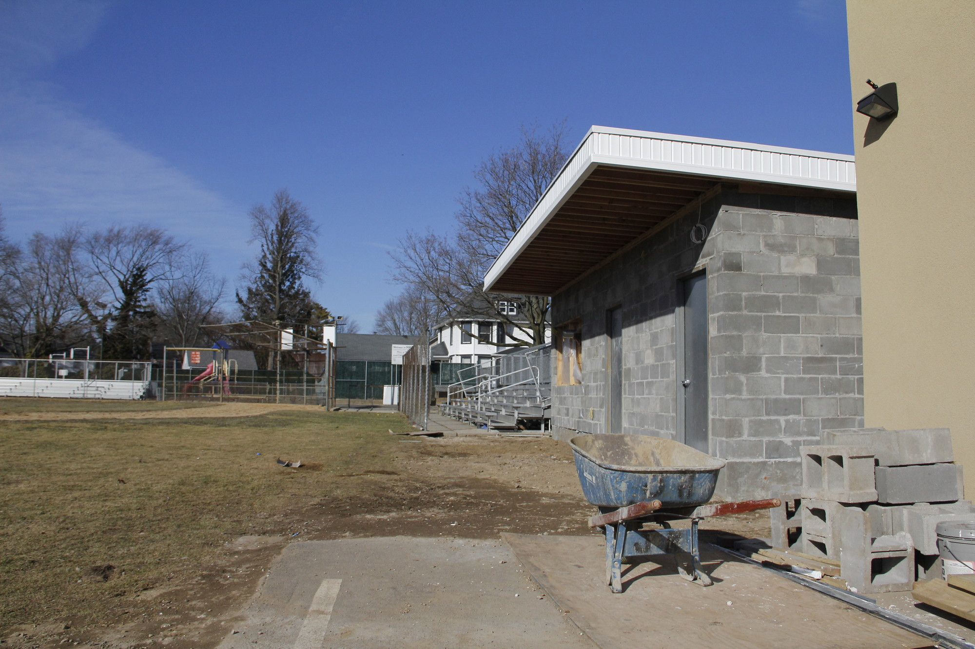 The Malverne Little League will unveil its new concession stand, complete with handicap accessible bathrooms, at this year's Opening Day ceremony on April 19 at Harris Field.