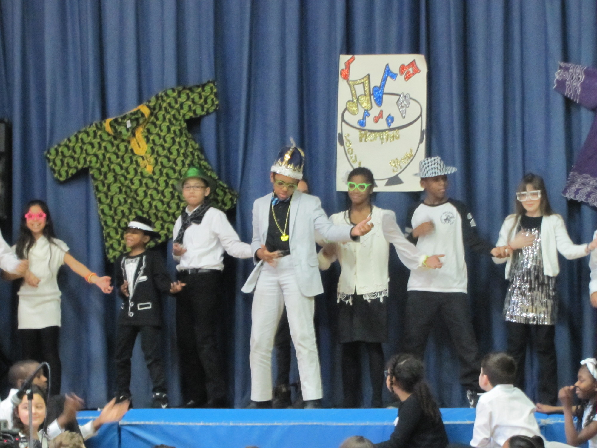 Davison Avenue students shook it up at this year�s assembly.