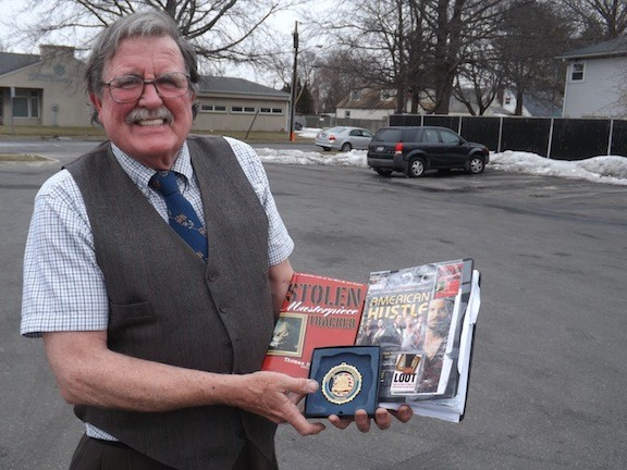 Lynbrook resident Tom McShane authored Stolen Masterpiece Tracker to detail some of the famous cases he worked as an FBI agent.