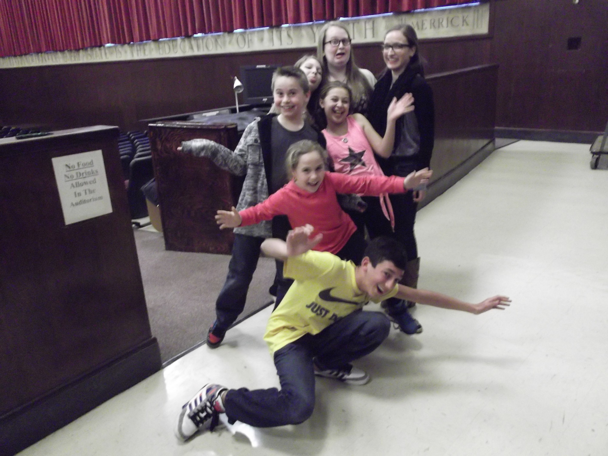 Jacob Geier, Molly Walsh, Jack McDonagh, Halle Wunderman, Jess Serviss, Sara Miller and Sabrina Garone will play the von Trapp children in Mepham's production of 'The Sound of Music.'
