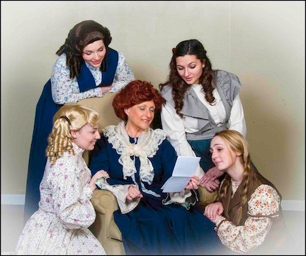 Watch the adventures of the March sisters unfold in Plaza Theatrical Productions' Little Women: The Musical at The Showplace in Bellmore on Sunday.
