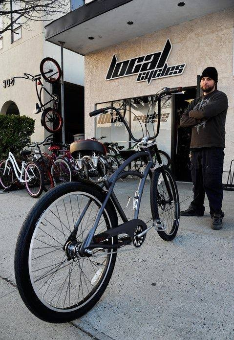 Local Cycles owner Nick Lalli is concerned about the impact on local bike shops.