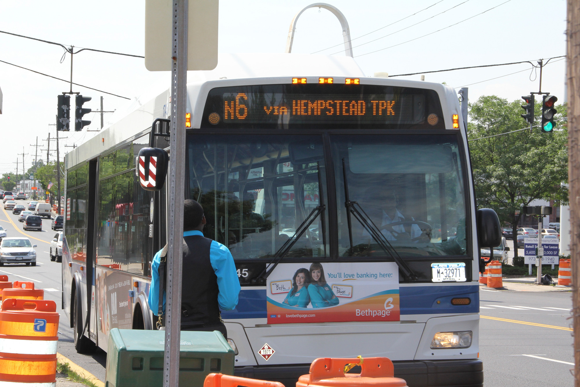 Two drivers on the NICE bus service's N6 line have been assaulted lately.
