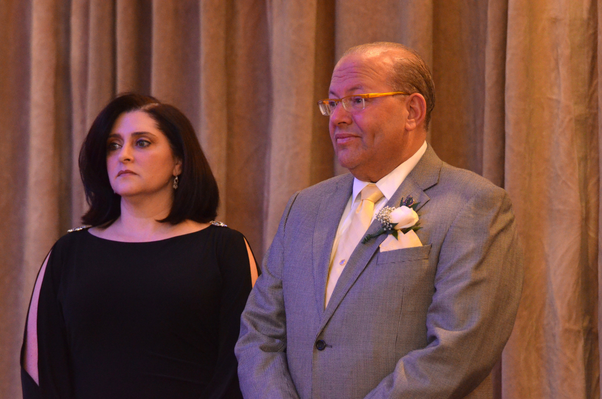 Immediate past PTA Council President Roxanne Rose and Town of Hempstead Councilman Gary Hudes were the night's major honorees.