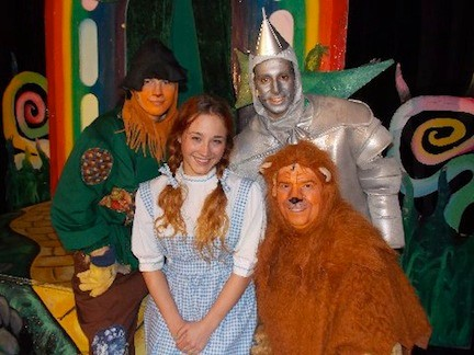 "Journey down the Yellow Brick Road in Plaza Theatrical Productions' staging of ""The Wizard of Oz"" in Bellmore."