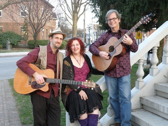Gathering Time performs a tribute to folk legend Pete Seeger on Saturday.