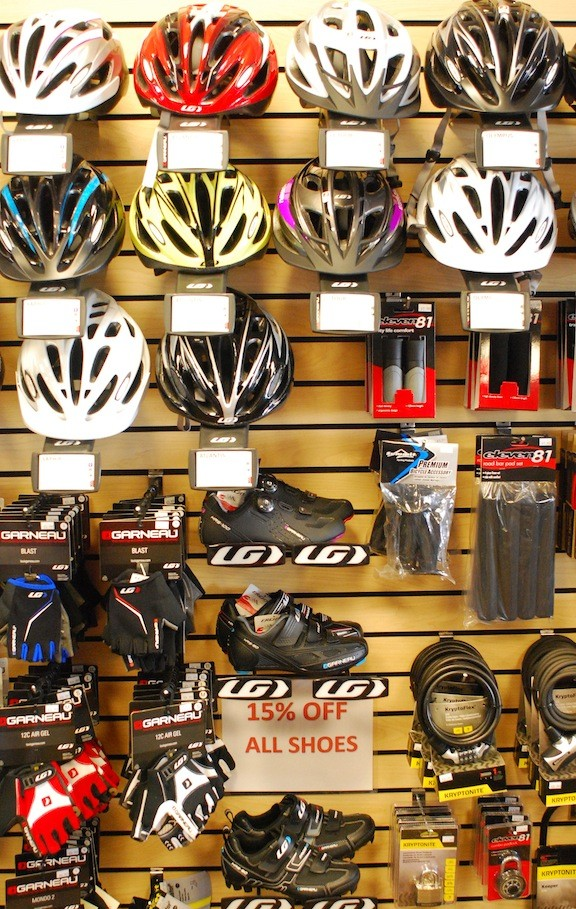Merrick Bicycles offers a full lineup of cycling accessories.