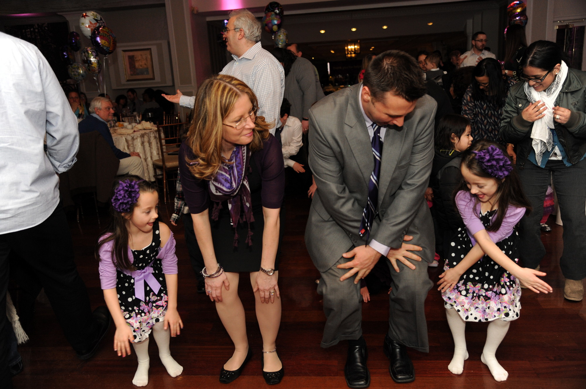The Rubino family, of North Bellmore, served as the 2013 March of Dimes ambassadors. They danced the night away at the 2014 kickoff event.