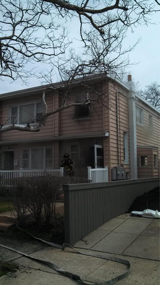 Firefighters responded to 548 W. Fulton St. last Tuesday.