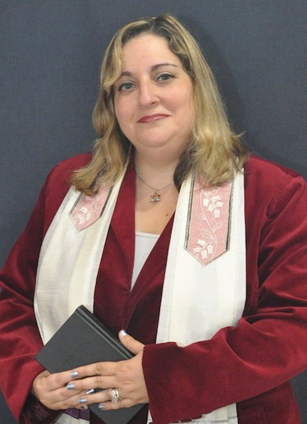 Rabbi Marci Bellows of Temple B'nai Torah in Wantagh.